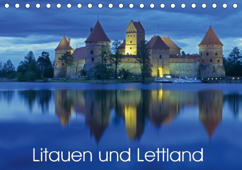 Litauen und Lettland (Tischkalender 2017 DIN A5 quer) - Coverbild