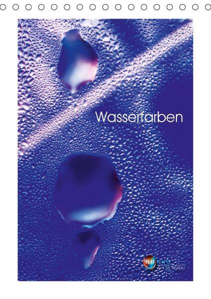 Wasserfarben (Tischkalender 2017 DIN A5 hoch) - Coverbild