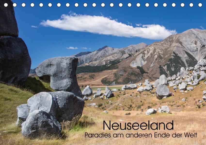 Neuseeland - Paradies am anderen Ende der Welt (Tischkalender 2017 DIN A5 quer) - Coverbild