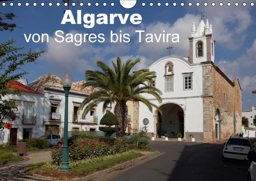 Algarve von Sagres bis Tavira (Wandkalender 2017 DIN A4 quer) - Coverbild