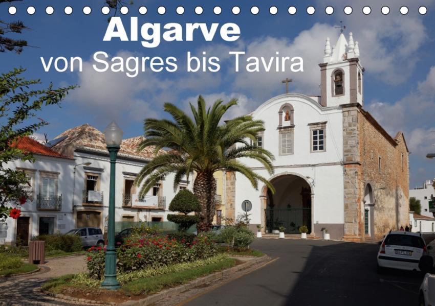Algarve von Sagres bis Tavira (Tischkalender 2017 DIN A5 quer) - Coverbild