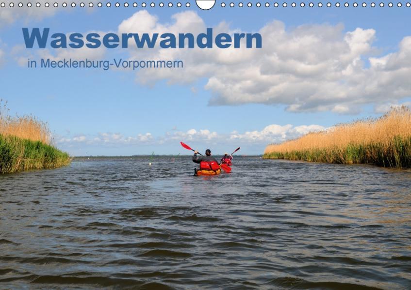 Wasserwandern in Mecklenburg-Vorpommern (Wandkalender 2017 DIN A3 quer) - Coverbild