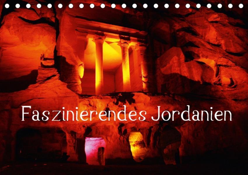 Faszinierendes Jordanien (Tischkalender 2017 DIN A5 quer) - Coverbild