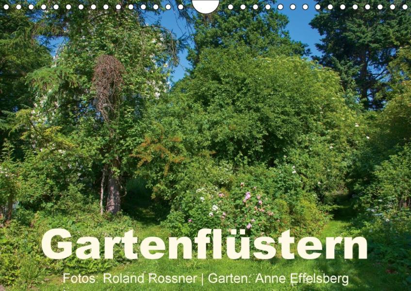Gartenflüstern (Wandkalender 2017 DIN A4 quer) - Coverbild