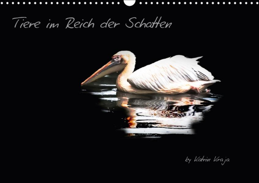Tiere im Reich der Schatten (Wandkalender 2017 DIN A3 quer) - Coverbild