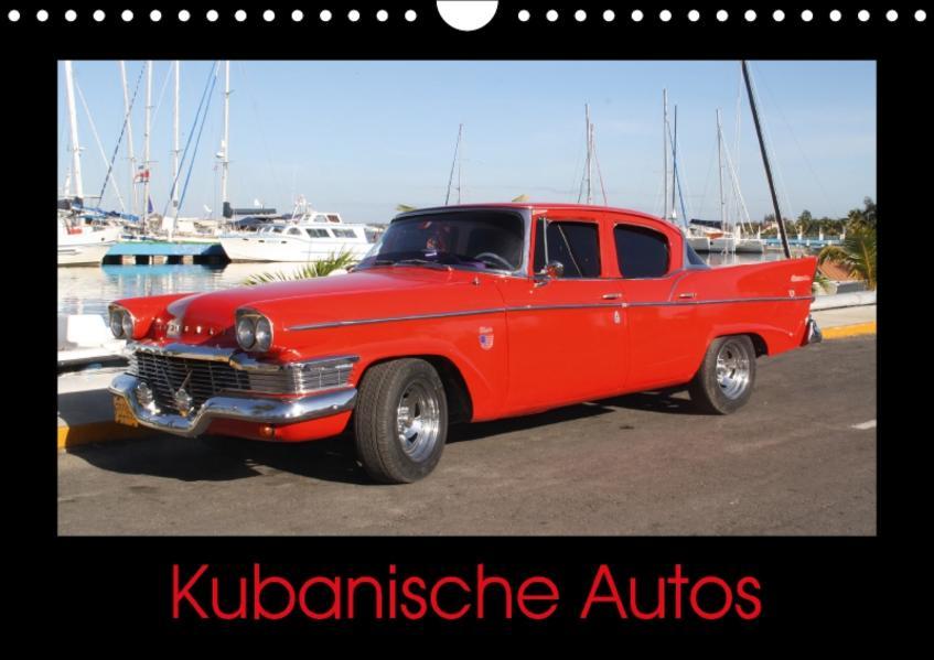 Kubanische Autos (Wandkalender 2017 DIN A4 quer) - Coverbild