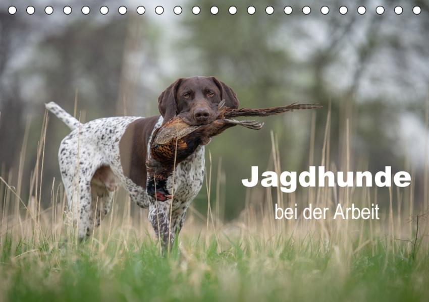 Jagdhunde bei der Arbeit (Tischkalender 2017 DIN A5 quer) - Coverbild