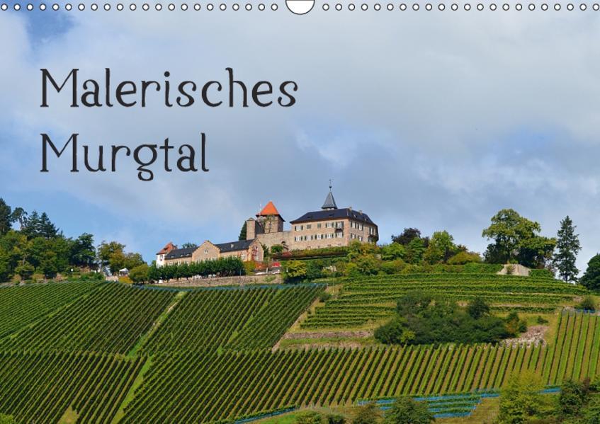 Malerisches Murgtal (Wandkalender 2017 DIN A3 quer) - Coverbild