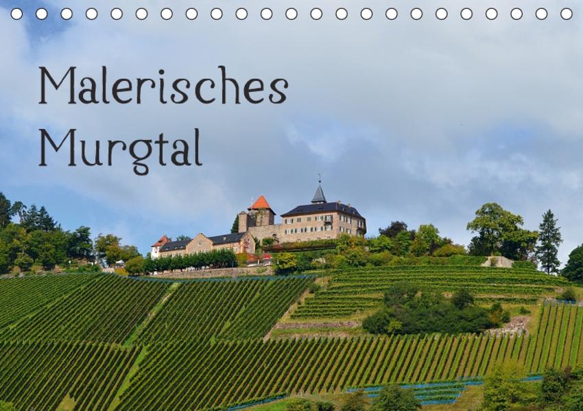 Malerisches Murgtal (Tischkalender 2017 DIN A5 quer) - Coverbild