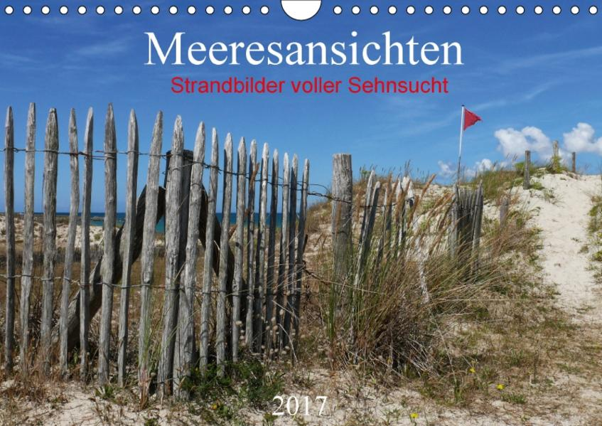 Meeresansichten (Wandkalender 2017 DIN A4 quer) - Coverbild