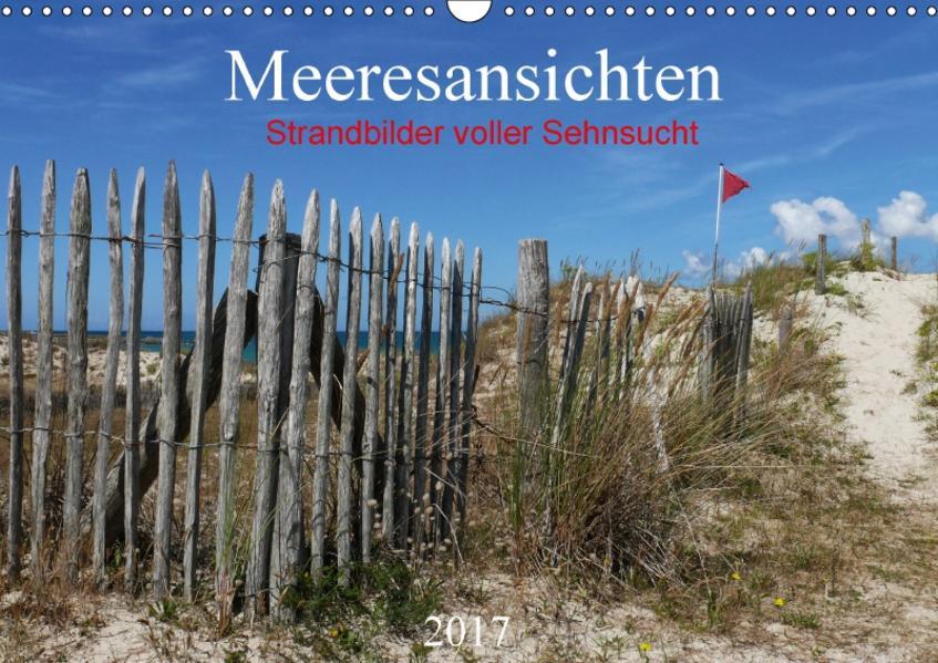 Meeresansichten (Wandkalender 2017 DIN A3 quer) - Coverbild