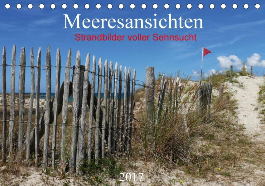 Meeresansichten (Tischkalender 2017 DIN A5 quer) - Coverbild