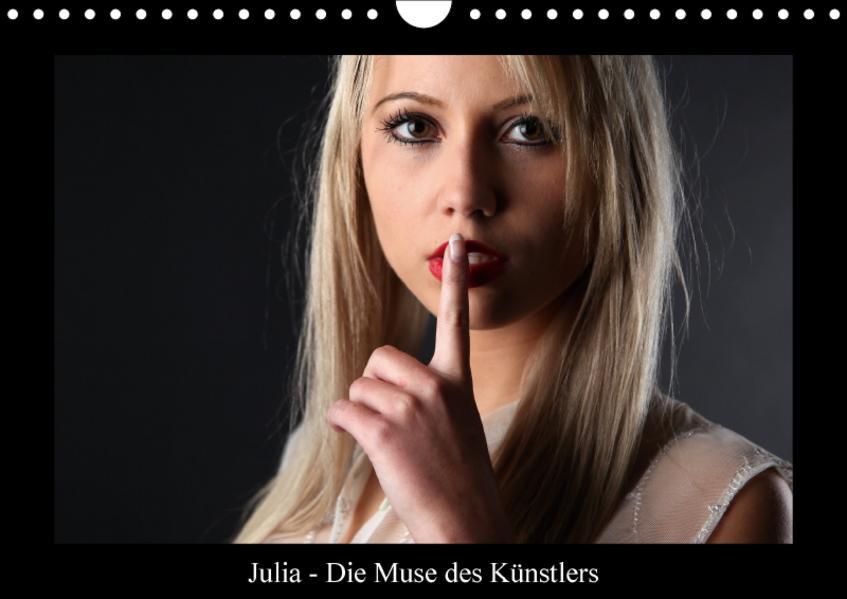 Julia - Die Muse des KünstlersCH-Version  (Wandkalender 2017 DIN A4 quer) - Coverbild