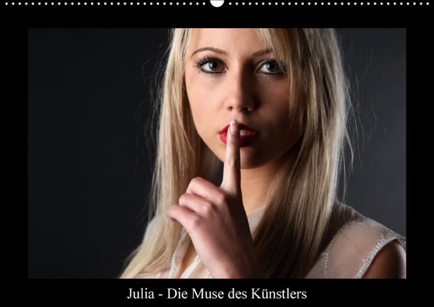 Julia - Die Muse des KünstlersCH-Version  (Wandkalender 2017 DIN A2 quer) - Coverbild