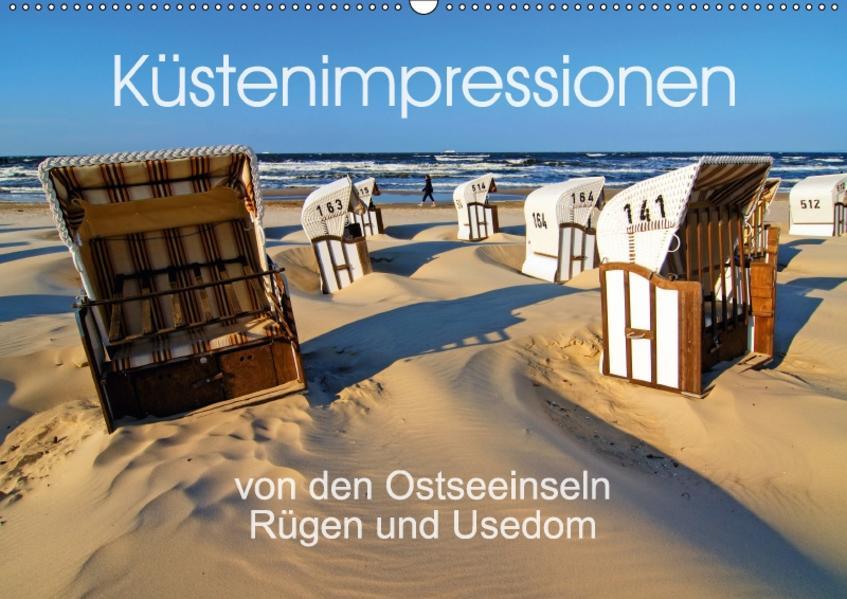 Küstenimpressionen von den Ostseeinseln Rügen und Usedom (Wandkalender 2017 DIN A2 quer) - Coverbild