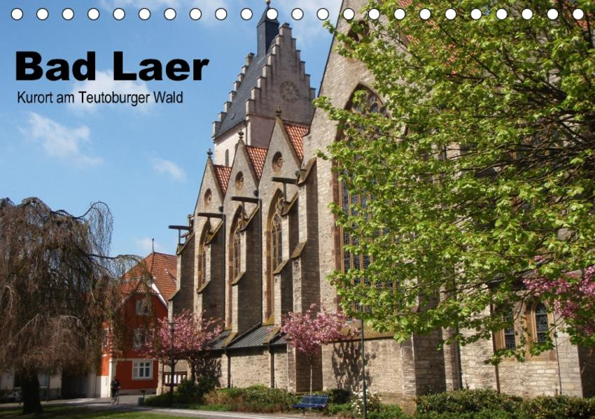 Bad Laer, Kurort am Teutoburger Wald (Tischkalender 2017 DIN A5 quer) - Coverbild