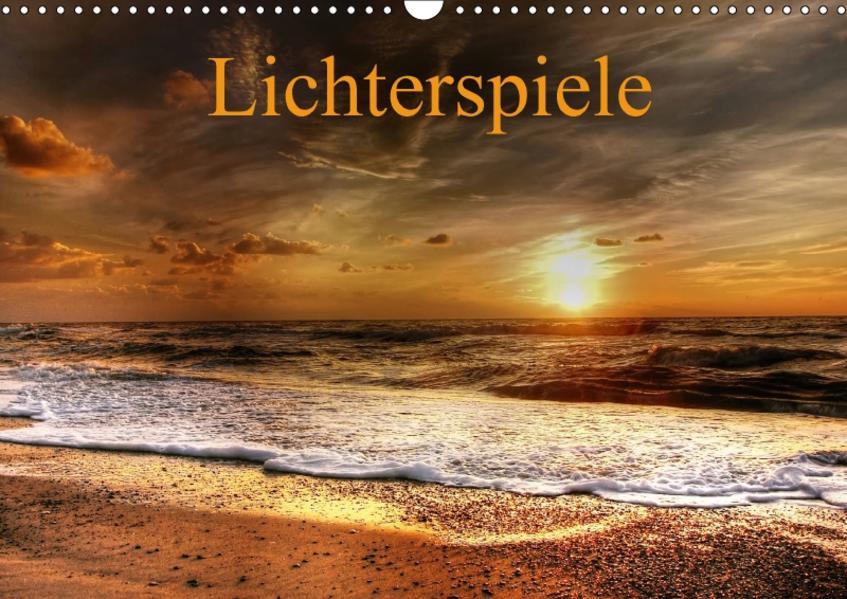Lichterspiele (Wandkalender 2017 DIN A3 quer) - Coverbild