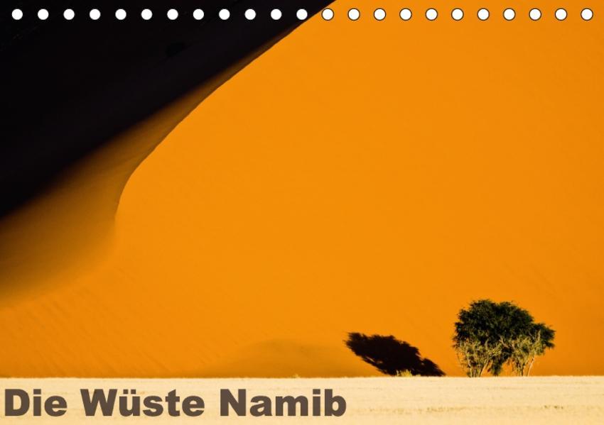Die Wüste Namib (Tischkalender 2017 DIN A5 quer) - Coverbild