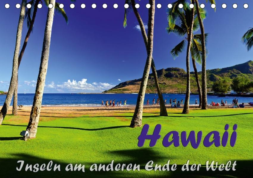 Hawaii - Inseln am anderen Ende der WeltCH-Version  (Tischkalender 2017 DIN A5 quer) - Coverbild
