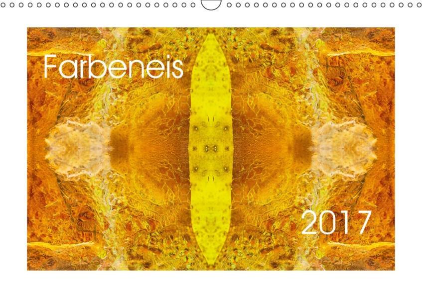 FarbeneisCH-Version  (Wandkalender 2017 DIN A3 quer) - Coverbild