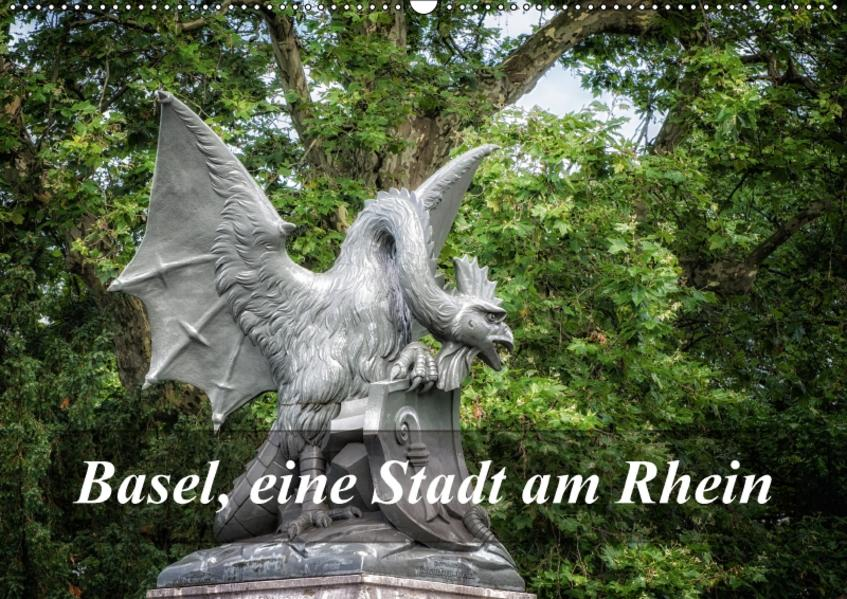 Basel, eine Stadt am RheinCH-Version  (Wandkalender 2017 DIN A2 quer) - Coverbild
