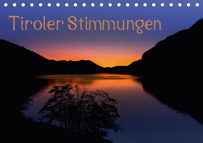Tiroler StimmungenAT-Version  (Tischkalender 2017 DIN A5 quer) - Coverbild