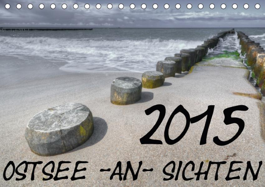 Ostsee-an-Sichten (Tischkalender 2017 DIN A5 quer) - Coverbild