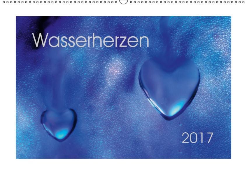 WasserherzenAT-Version  (Wandkalender 2017 DIN A2 quer) - Coverbild