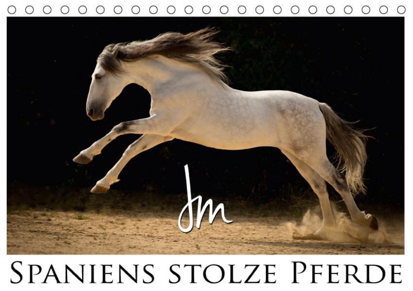 Spaniens stolze PferdeAT-Version  (Tischkalender 2017 DIN A5 quer) - Coverbild