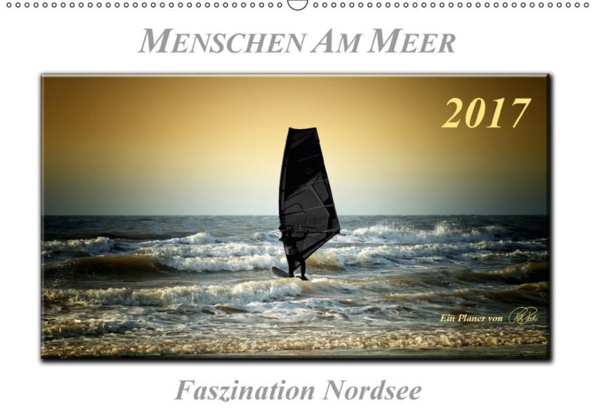 Menschen am Meer (Wandkalender 2017 DIN A2 quer) - Coverbild