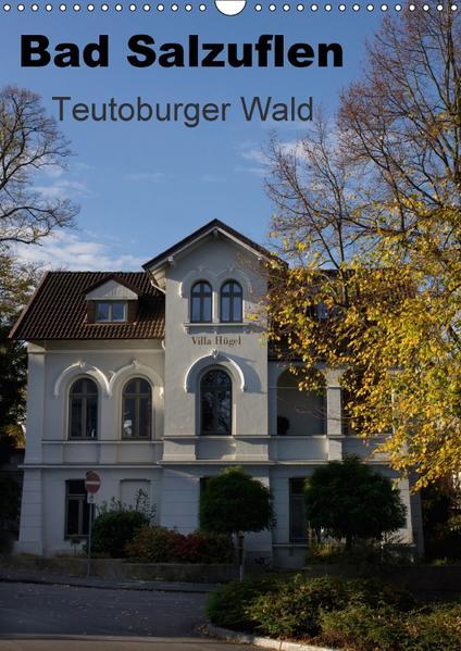 Bad Salzuflen - Teutoburger Wald (Wandkalender 2017 DIN A3 hoch) - Coverbild