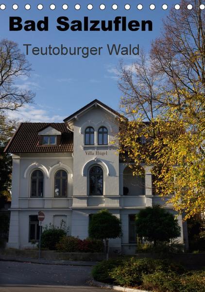 Bad Salzuflen - Teutoburger Wald (Tischkalender 2017 DIN A5 hoch) - Coverbild