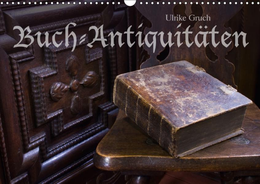 Buch-Antiquitäten (Wandkalender 2017 DIN A3 quer) - Coverbild