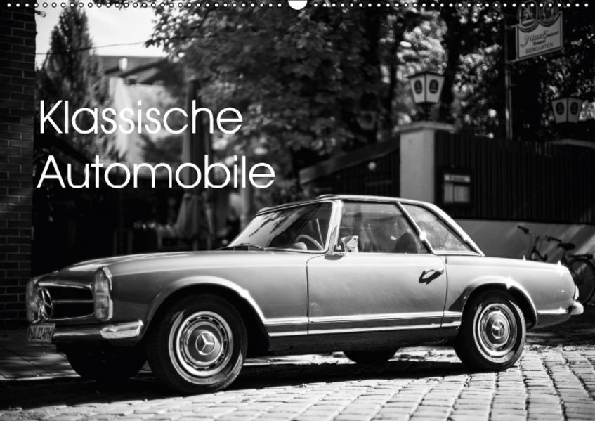 Klassische Automobile (Wandkalender 2017 DIN A2 quer) - Coverbild