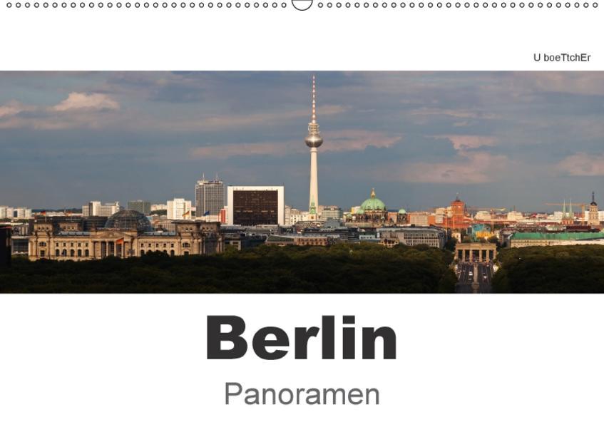 Berlin Panoramen (Wandkalender 2017 DIN A2 quer) - Coverbild