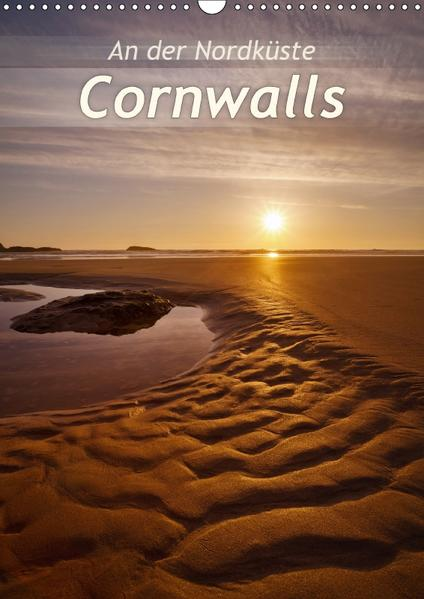 An der Nordküste CornwallsAT-Version  (Wandkalender 2017 DIN A3 hoch) - Coverbild