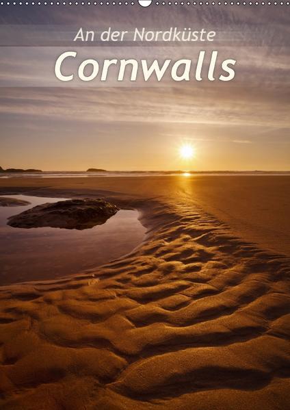An der Nordküste CornwallsAT-Version  (Wandkalender 2017 DIN A2 hoch) - Coverbild