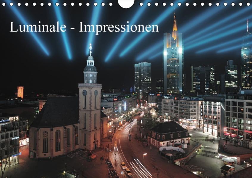 Luminale - Impressionen (Wandkalender 2017 DIN A4 quer) - Coverbild