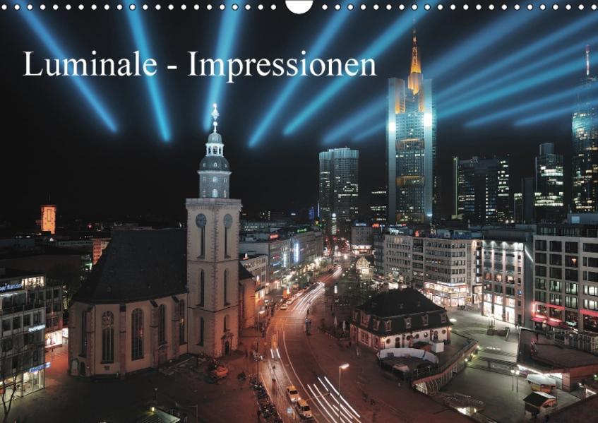Luminale - Impressionen (Wandkalender 2017 DIN A3 quer) - Coverbild