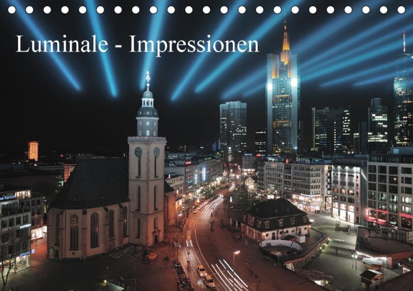 Luminale - Impressionen (Tischkalender 2017 DIN A5 quer) - Coverbild