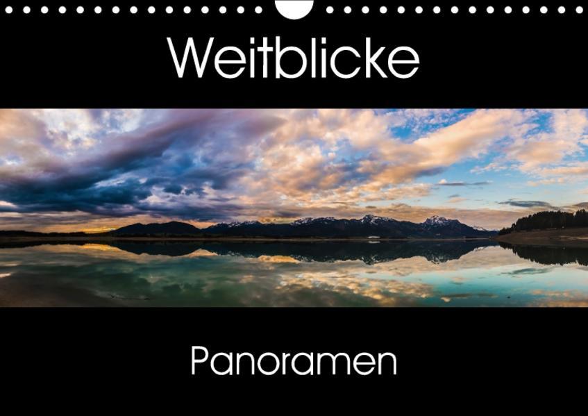 Weitblicke - Panoramen (Wandkalender 2017 DIN A4 quer) - Coverbild