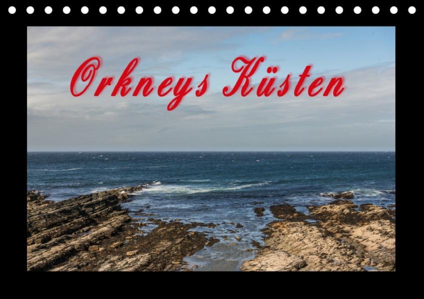 Orkneys Küsten (Tischkalender 2017 DIN A5 quer) - Coverbild