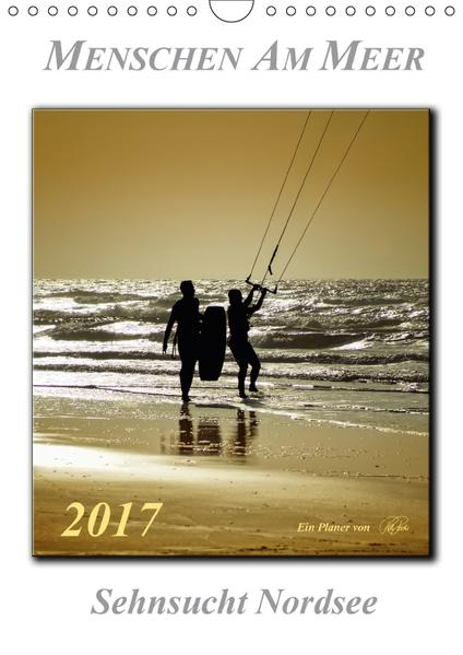 Menschen am Meer (Wandkalender 2017 DIN A4 hoch) - Coverbild