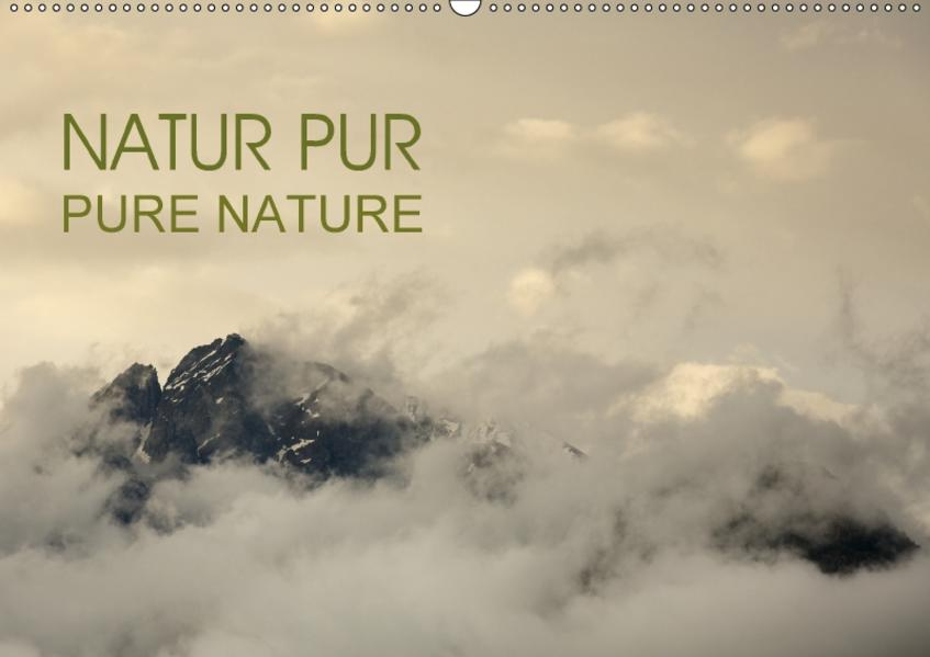 NATUR PUR - PURE NATURE (Wandkalender 2017 DIN A2 quer) - Coverbild