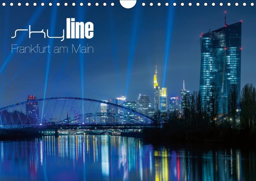 Skyline Frankfurt am Main (Wandkalender 2017 DIN A4 quer) - Coverbild