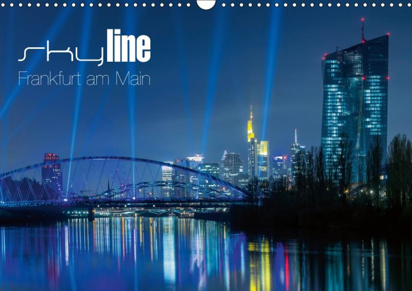 Skyline Frankfurt am Main (Wandkalender 2017 DIN A3 quer) - Coverbild