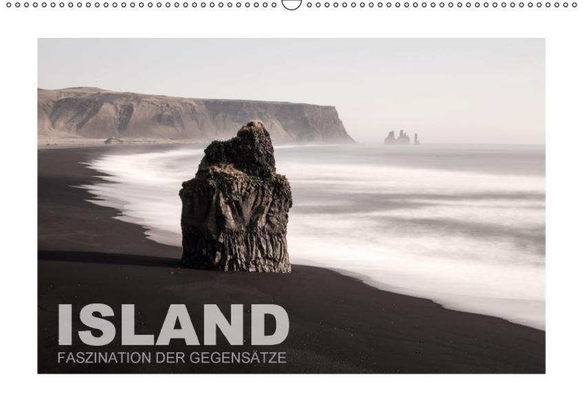 Island - Faszination der Gegensätze (Wandkalender 2017 DIN A2 quer) - Coverbild