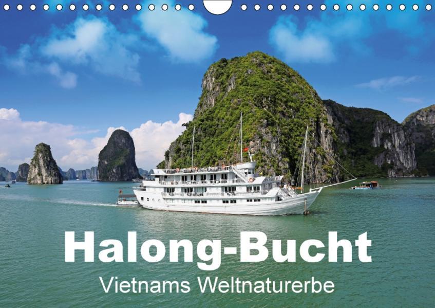 Halong-Bucht - Vietnams Weltnaturerbe (Wandkalender 2017 DIN A4 quer) - Coverbild