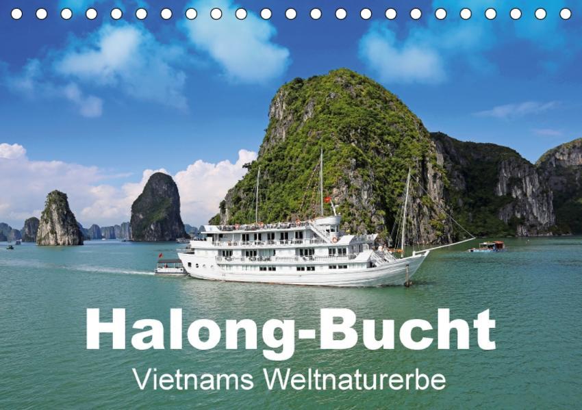 Halong-Bucht - Vietnams Weltnaturerbe (Tischkalender 2017 DIN A5 quer) - Coverbild
