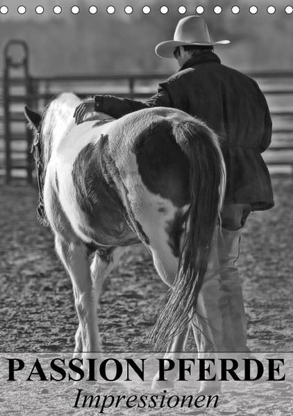 Passion Pferde - Impressionen (Tischkalender 2017 DIN A5 hoch) - Coverbild